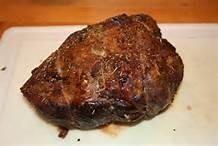 Cooked roast beef