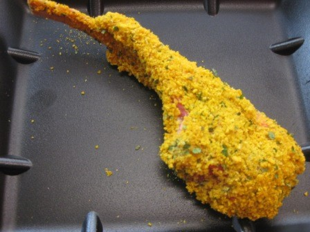 Lamb french crumbed cutlets