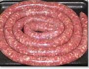 Borewurst sausages